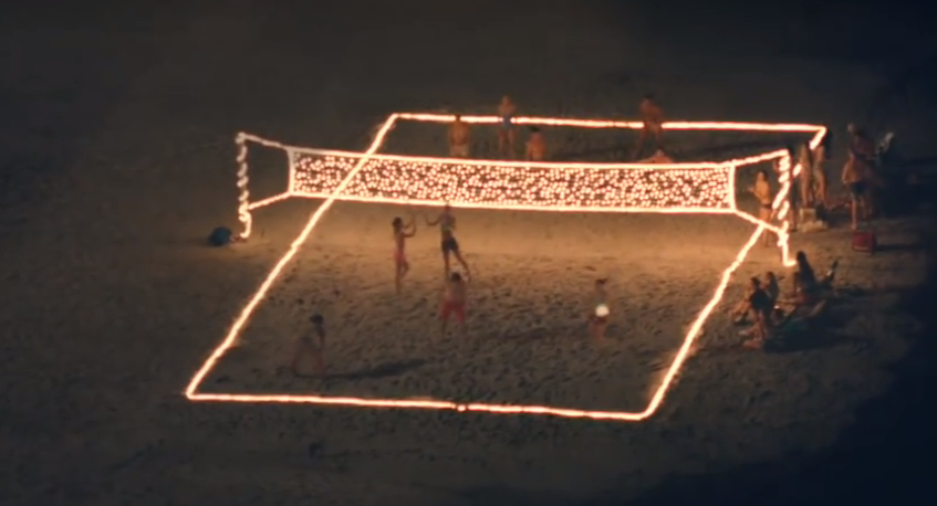 Battery Powered White Christmas Lights