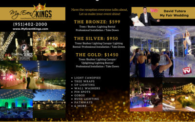 Wedding and Event Lighting Specials from My Event Kings