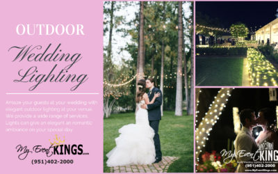 Outdoor Wedding Lighting Professional Design, Installation & Removal